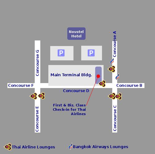 Suvarnabhumi International Airport Asia Airports Guide